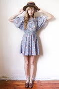 Image of flutter sleeves dress