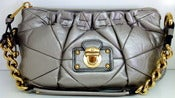 Image of Marc Jacobs Camila Metallic Handbag