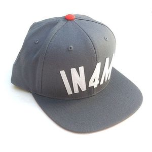 Image of IN4MATION - IN4M STARTER SNAPBACK ( GRY/WHT/ORG )