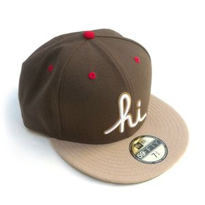 Image of IN4MATION - HI NEW ERA HAT (BRN/TAN)