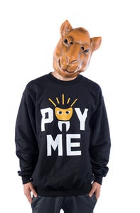 Image of Pay Me Crew - Black