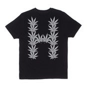Image of HUF - LEAVES TEE (BLACK)