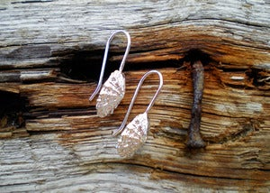 Image of Small Limpet Drop Earrings