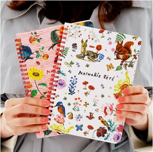 Image of Nathalie lete twinring notebook