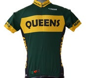 Image of Queens Cycling Jersey - A Peace, Love & Pedals cycling jersey classic for men and women!