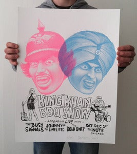 Image of The King Khan and BBQ Show Chicago 2007