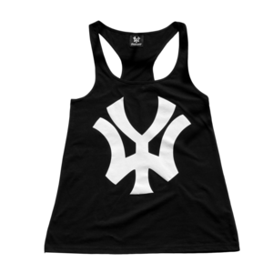 Image of 'WY' Womens Vest - Black/White