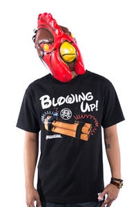 Image of Blowing Up Tee - Black