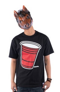 Image of Party Cup Tee - Black
