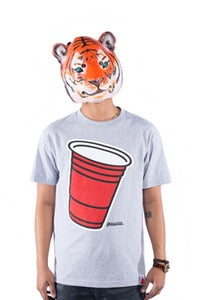 Image of Party Cup Tee - Grey