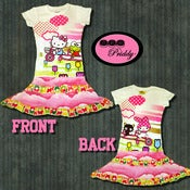 Image of **SOLD OUT** Hello Kitty and Friends double ruffle Dress - Size 7/8/9