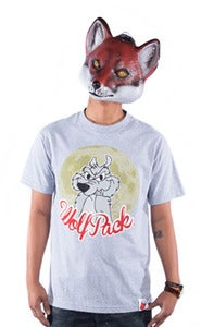 Image of Wolf Pack Tee - Grey