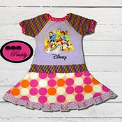 Image of **SOLD OUT** Disney BEST Characters Twirl Dress - Size 5/6