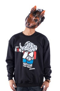 Image of Party Elephante Crew Black