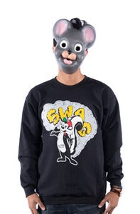 Image of Swag Stinks Crew - Black