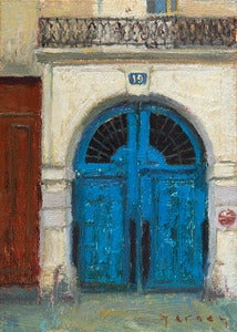 Image of 4. Parisian Blue Doors