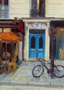 Image of 9. Blue Doors and a Bicycle