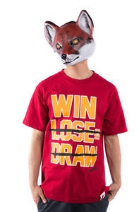 Image of Win Lose Draw Tee - Cardinal