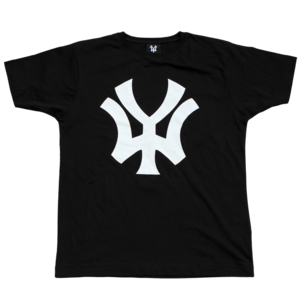 Image of 'WY' T-Shirt - Black/White