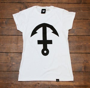 Image of Inverted Anchor Cross - Womens