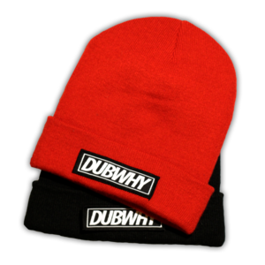 Image of 'DUBWHY' Roll Down Beanie