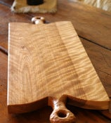 Flame Birch Serving Board