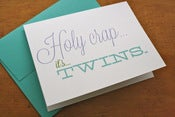 Image of Holy Crap it's Twins Card