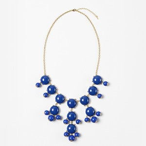 Image of Royal Blue Bubble Necklace