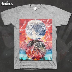 Image of Toke - Clouds - Tee or Vest