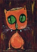 Image of Kevin Seconds 5x7 Digi-Print 'Ribaldi The Cat'