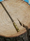 Image of Ornamental Things Brass Whistle Necklace