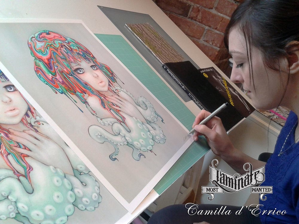 Image of Camilla d'errico x LAMINATE Most Wanted Print Series