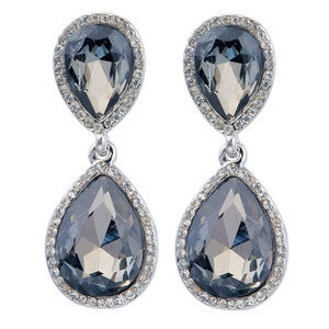 Image of Vintage Crystal Earrings