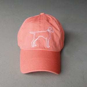 Image of Coral Bird Dog Women's Cap