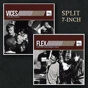 "Image of Flex/Vices Split 7"" WHITE Vinyl"