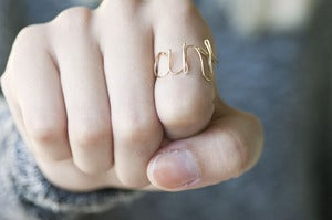 Image of Cunt Wired Ring