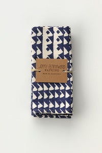 Image of SET OF 2 everyday napkins -- INDIGO