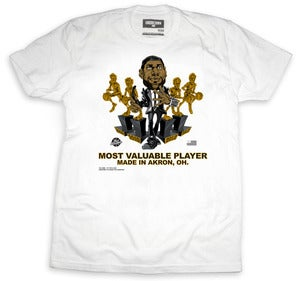 Image of Made In Akron Caricature Tee | white