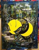"Image of ""Bee at Niagara Falls"" art piece."
