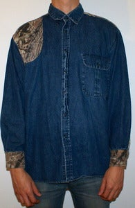 Image of Custom Vintage Denim Shirt