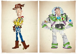 Image of My Boot/Intelligent Life Set of 2 Prints