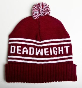 Image of Burgundy Bobble Hat