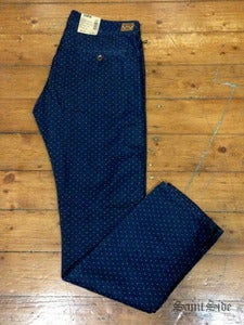 Image of Edwin - 55 Chino Vajira Dot Cotton Denim 6.8oz.
