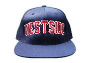 Image of WESTSIDE SNAPBACK - (Navy)