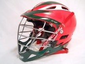 Image of Red Cascade Pro 7 with Green and White Decals
