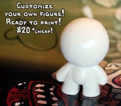 Image of Blank Isaac Figure