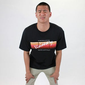 Image of Visionary Gradient Tee - Red