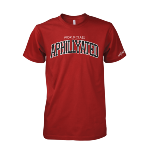 Image of World Class Aphillyated Arch Tee (Cardinal)