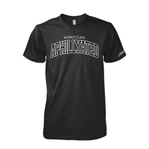 Image of World Class Aphillyated Arch Tee (Black)