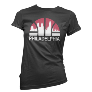 Image of Women's Baller Skyline Tee (Black)